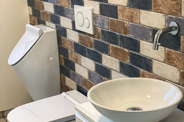 Fliesen Jams - Wc, Toilette, Keramik, farbige Fliesen